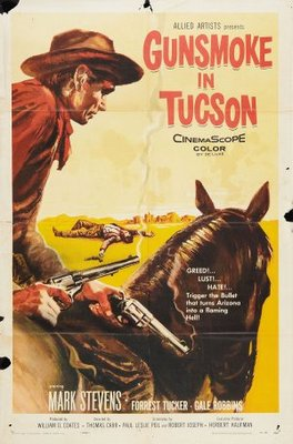 Gunsmoke in Tucson movie poster (1958) poster MOV_fff5032b