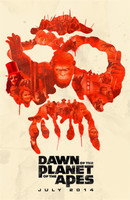 Dawn of the Planet of the Apes movie poster (2014) picture MOV_g4c6wk2v