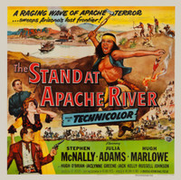 The Stand at Apache River movie poster (1953) picture MOV_gp1ennl5