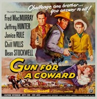 Gun for a Coward movie poster (1957) picture MOV_guakl49f