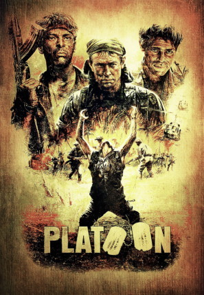PLATOON Movie Poster 1986