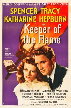 Keeper of the Flame movie poster (1942) poster MOV_hhufhbpl
