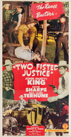 Two Fisted Justice movie poster (1943) picture MOV_i1jviy2q