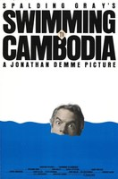 Swimming to Cambodia movie poster (1987) picture MOV_j8fshc6g