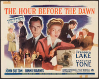The Hour Before the Dawn movie poster (1944) picture MOV_jxpblm6s