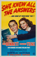 She Knew All the Answers movie poster (1941) picture MOV_k4av6rgx
