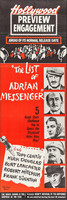 The List of Adrian Messenger movie poster (1963) picture MOV_ba4e02dd