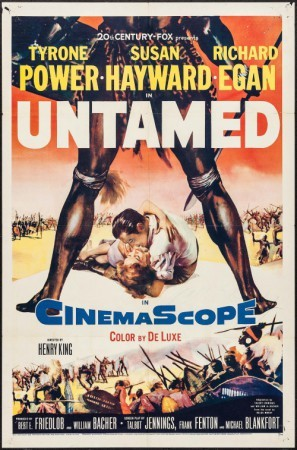 Untamed movie poster (1955) poster MOV_mddgrsam