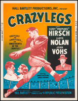 Crazylegs movie poster (1953) picture MOV_npezkwhf