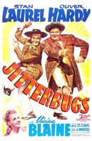 Jitterbugs movie poster (1943) picture MOV_npymx5rh