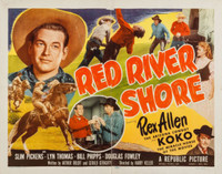 Red River Shore movie poster (1953) picture MOV_npzptegj
