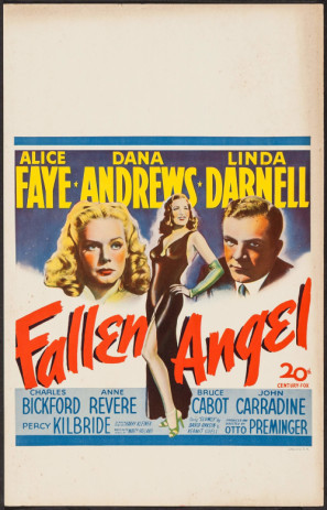 Fallen Angel movie poster (1945) poster MOV_nxa05kuz