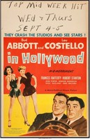 Abbott and Costello in Hollywood movie poster (1945) picture MOV_p3xetdro