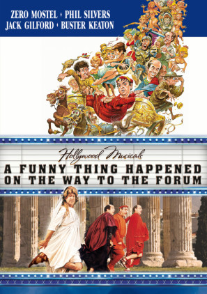 A Funny Thing Happened on the Way to the Forum movie poster (1966) poster MOV_piuxmpbo