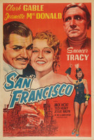San Francisco movie poster (1936) picture MOV_pywtfzgb