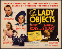 The Lady Objects movie poster (1938) picture MOV_qowlceqc
