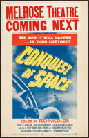Conquest of Space movie poster (1955) picture MOV_rqjol3k9