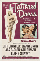The Tattered Dress movie poster (1957) picture MOV_rticygnw