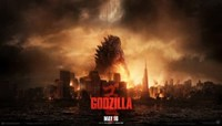 Godzilla movie poster (2014) picture MOV_rxkbpnon