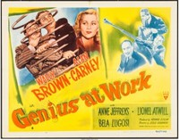 Genius at Work movie poster (1946) picture MOV_s1tioj42