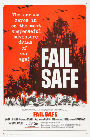 Fail-Safe movie poster (1964) poster MOV_tgypyfen