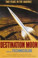 Destination Moon movie poster (1950) picture MOV_uwbz3jat