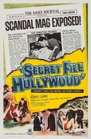 Secret File: Hollywood movie poster (1962) picture MOV_uy6jhzg5