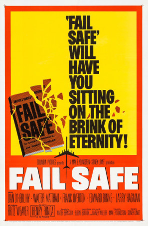 Fail-Safe movie poster (1964) poster MOV_vcykgzbm