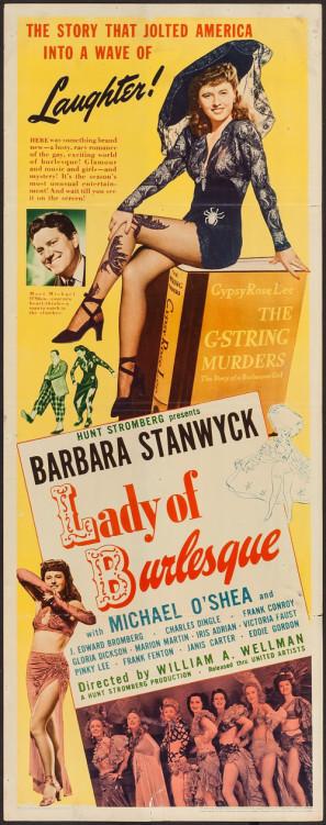 Lady of Burlesque movie poster (1943) poster MOV_weaohxxa