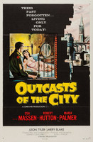 Outcasts of the City movie poster (1958) picture MOV_wevdxr7u