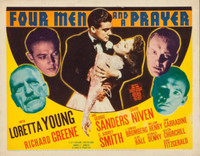 Four Men and a Prayer movie poster (1938) picture MOV_b3e8cea0