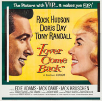Lover Come Back movie poster (1961) picture MOV_z3rexhsu