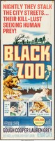 Black Zoo movie poster (1963) picture MOV_zityinvx
