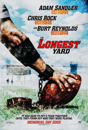 The Longest Yard movie poster (2005) poster MOV_zqisvtho