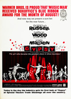 Gypsy movie poster (1962) picture MOV_zz8as2m4